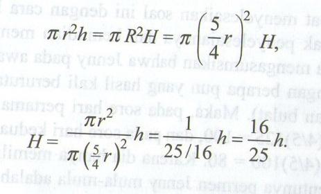 Seri soal Perbandingan Aritmatika dari Asosiasi Matematika